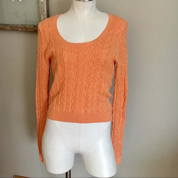 63cf154fe53 Free People Cable Knit Crop Pullover